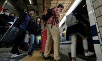 Lesma electrocutada causou caos ferroviário no Japão