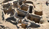 Egipto. Restos de edifícios cristão encontrados em antigo oásis